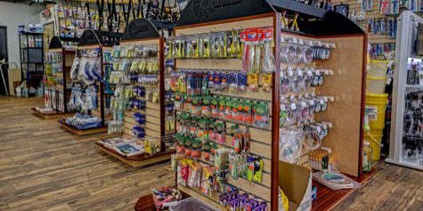 Boat Marina Bait and Tackle Shop