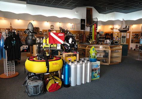 Scuba Dive Shop POS System